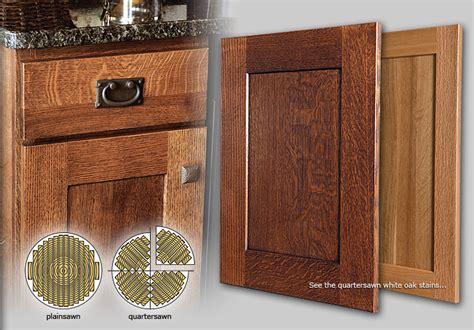 Quarter Sawn White Oak Cabinets by Cabinets Showplace Quartersawn White Oak