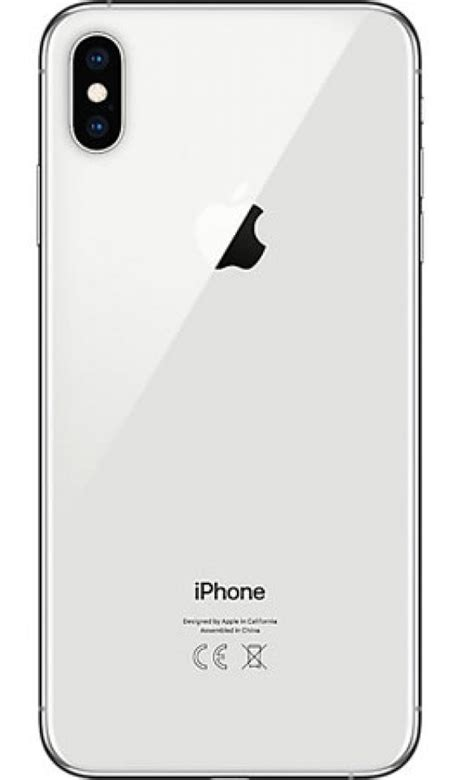 apple iphone xs max 64gb silver best mobile phone deals on 3