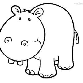 hippo face coloring page hippo face coloring page kids drawing and coloring pages