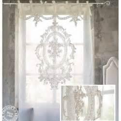 Embroidered Curtain Fabric Tende Shabby Chic Cucina Cerca Con Google Idee Per La