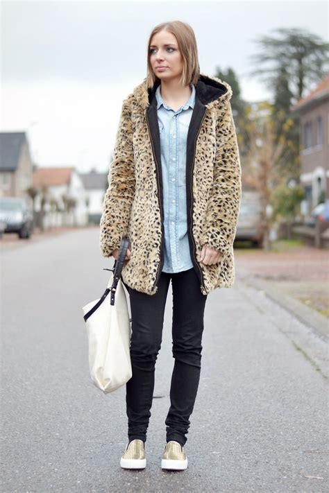 Nena Oversized Jacket nena f zara leopard coat asos slip ons denim and leopard lookbook