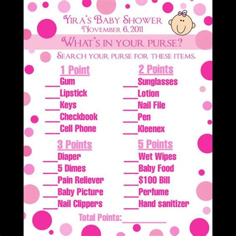 Purse For Baby Shower by 24 Personalized Baby Shower Cards What S In Your