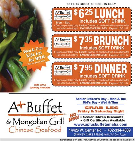 buffet city coupons aplus buffet buffet coupon experience our city