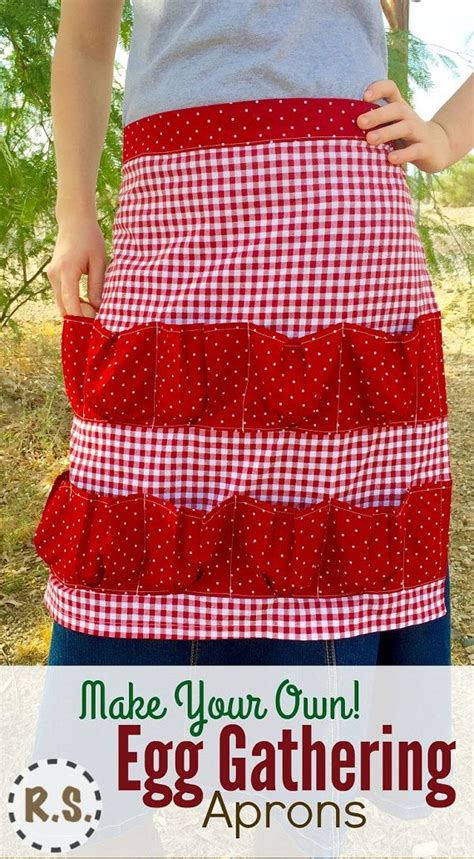 pattern for egg apron make your own egg gathering apron collect your eggs in