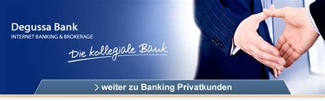 degussa bank de degussa bank portalseite
