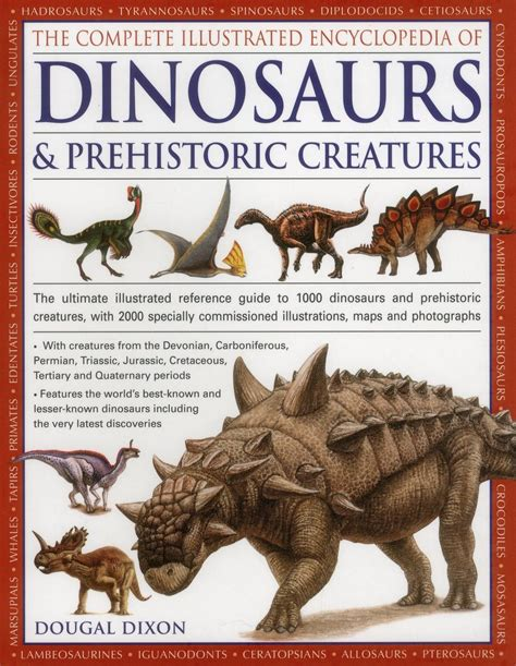 3000 facts about books the complete illustrated encyclopedia of dinosaurs
