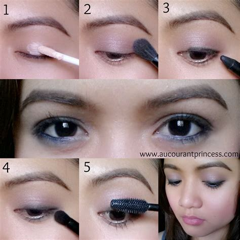 tutorial lipstik simpel a glad diary simple everyday eye makeup look tutorial