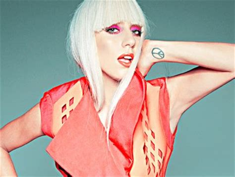 lady gaga peace tattoo on her wrist meaning of peace