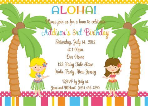 sle wording for birthday invitation luau invitations wording xyz