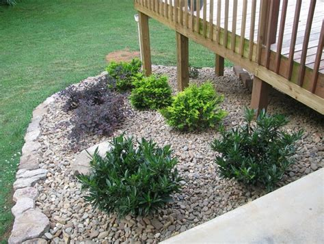 1000 ideas about landscaping around deck on pinterest