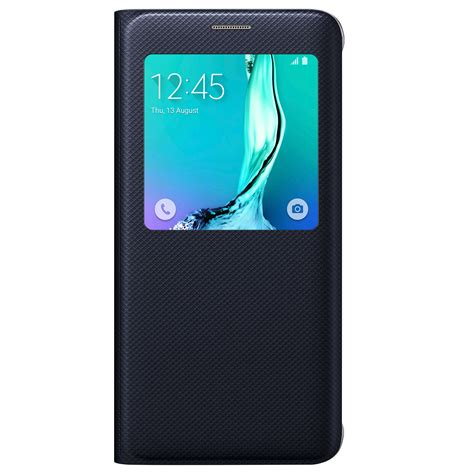 S View Cover S6 2 samsung s view cover for samsung galaxy s6 edge blue black 価格 特徴 expansys 日本