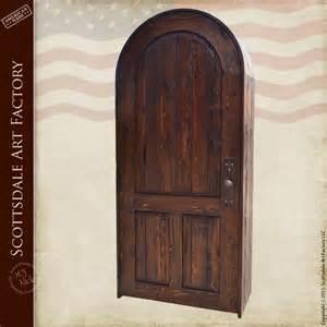 doors wood custom arched entrance solid wood exterior door