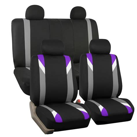 purple seat covers for cars seat covers for auto car purple w 3pc carpet floor mats
