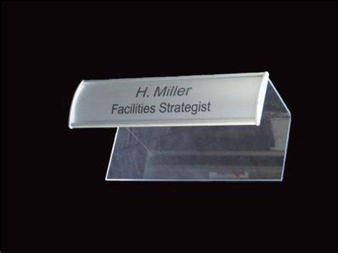 name tag holder design cubicle name plate holder pins house design and office