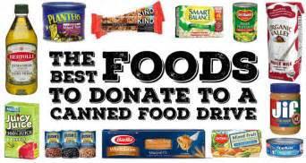 this is what food banks actually need food drive food