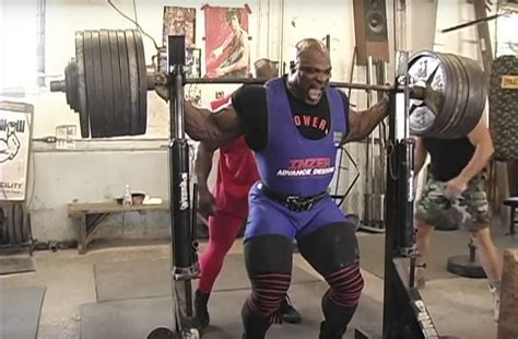 ronnie coleman can t walk regrets squatting 800 for only