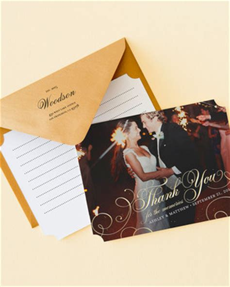 Wedding Paper Divas Thank You Cards by 9 Tips For Writing Thank You Notes For Wedding Gifts