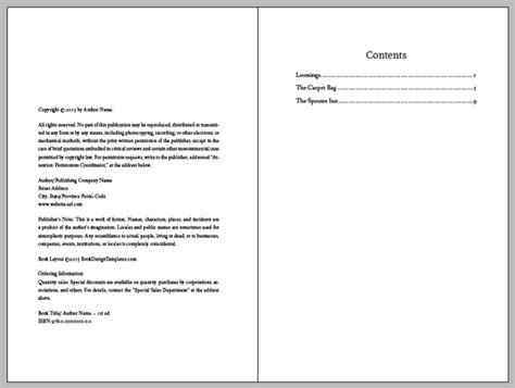 book design template indesignsecrets com indesignsecrets