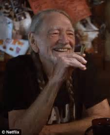 willie nelson smoking pot chelsea handler gets high on ayahuasca for new netflix