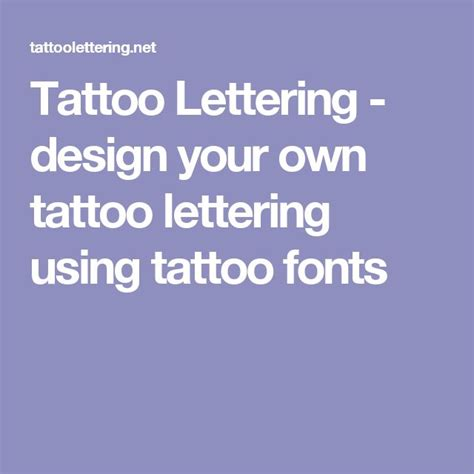 design own tattoo lettering lettering design your own lettering using