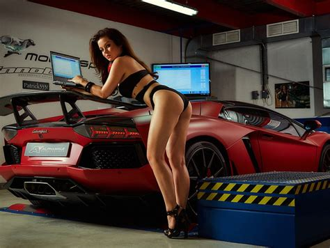 Auto Tuning 2017 by Miss Tuning 2017 Il Calendario Tuning Panoramauto