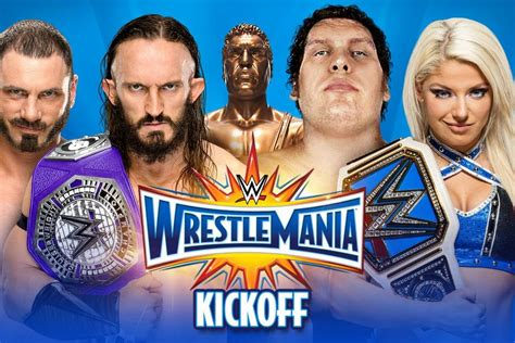 Wwe Wrestlemania 33 Kickoff 2017 2 Wwe Reveals Plans For Wrestlemania 33 Kickoff Cageside Seats