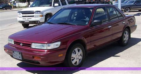 1991 nissan stanza 1991 nissan stanza information and photos momentcar