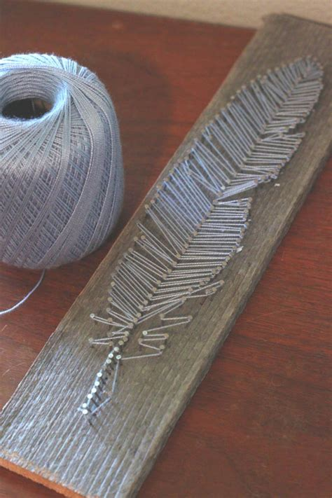 String Feather - feather string think crafts by createforless