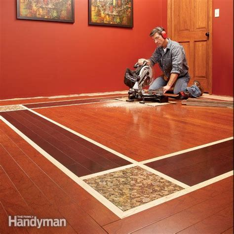 DIY Hardwood Floors: Lay a Contrasting Border   The Family