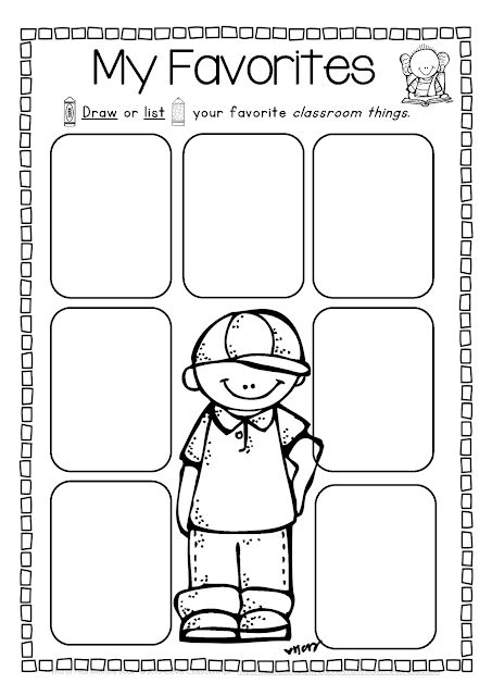 End Of The Year Memory Book And Activities Clever Classroom Blog Preschool Memory Book Template