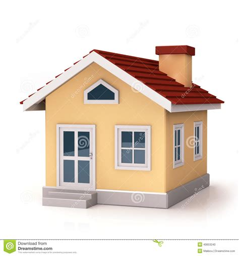 mini house front side stock illustration illustration of