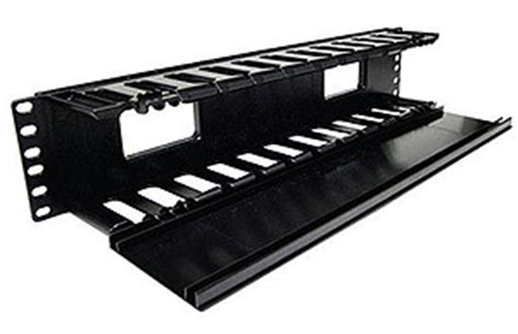 Rack Mount Cover by 19 Rack Mount Finger Type Wire Manager With Cover 2ru