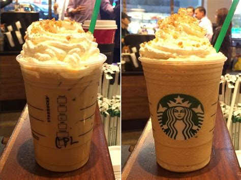 Honey Chestnut Latte Iced here s a sneak peek of starbucks new chestnut praline latte abc news