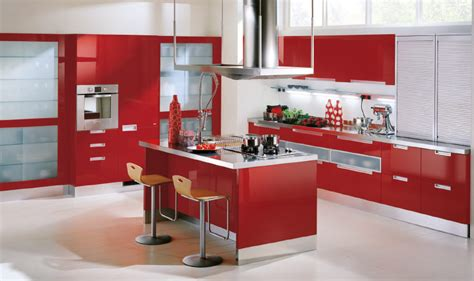 red kitchen cabinets ikea home designs project
