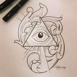 10 latest pyramid tattoo designs and ideas
