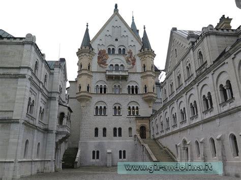 di neuschwanstein interno i castelli della baviera orari prezzi e info utili per