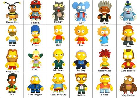 simpsons name simpsons characters list www pixshark images galleries with a bite