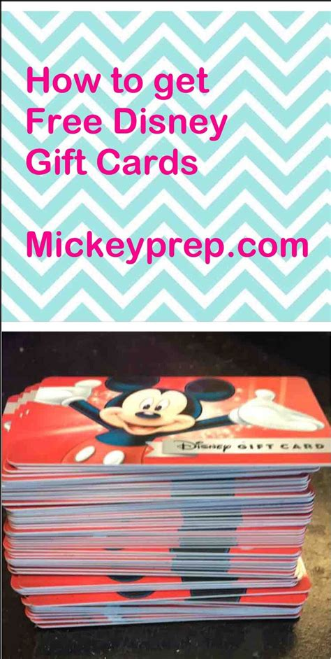 Best Way To Earn Free Gift Cards - 25 best ideas about cheap disney vacation on pinterest disney vacation planning