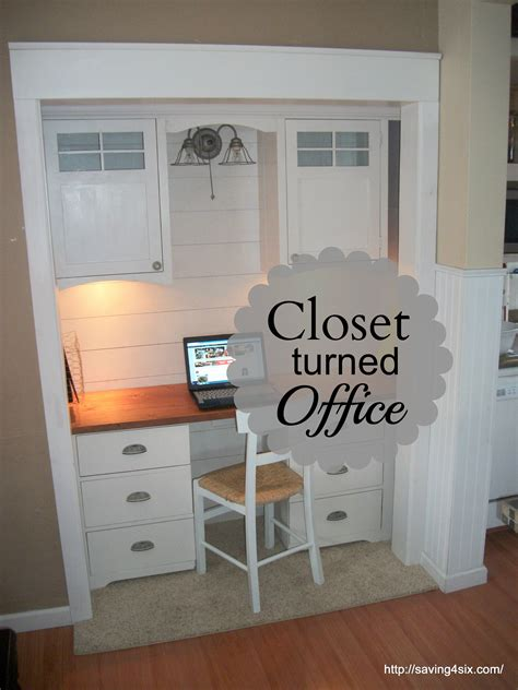 closet office reveal