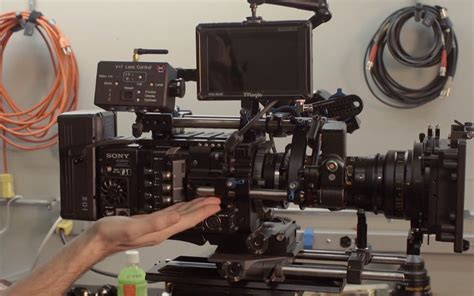 sony f55 panavision solid camera big feature kit for sony f5 and f55 cameras