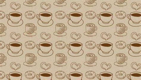 Background Pattern Brushes | 12 coffee pattern backgrounds photoshop free brushes