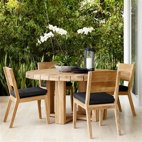 larnaca outdoor dining side chair williams sonoma
