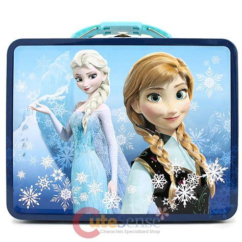 Snow Frozen Lunchbox disney frozen tin box snow metal lunch jewelry box blue ebay