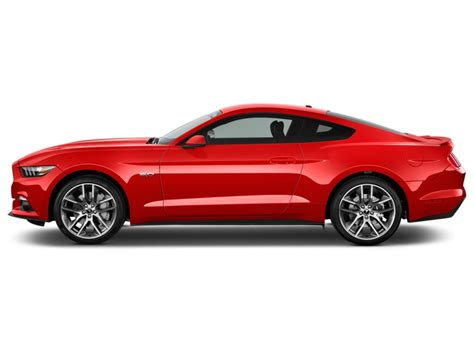 2018 Mustang Side View by Image 2016 Ford Mustang 2 Door Fastback Gt Premium Side