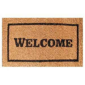 Welcome Mats Classic Welcome Doormat 471320110 Eco Friendly Indoor