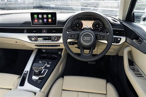 audi a4 2016 interior 2016 audi a4 avant on sale in australia from 63 900