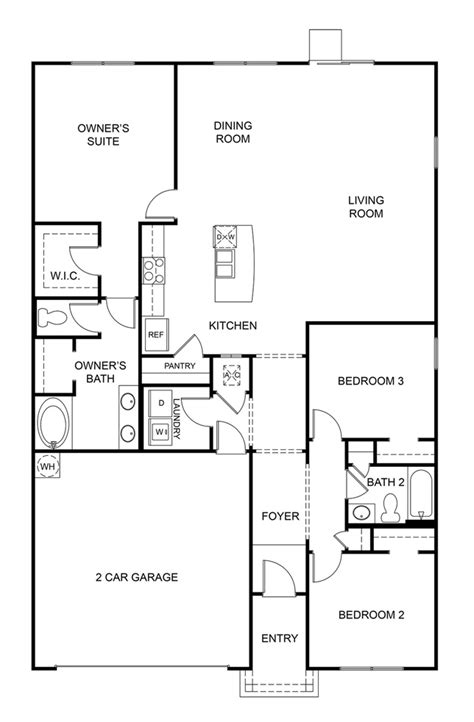dr horton homes floor plans