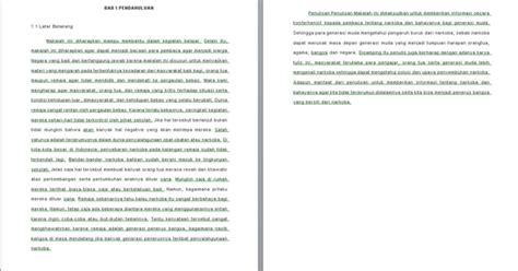 contoh makalah tentang narkoba contoh makalah kita