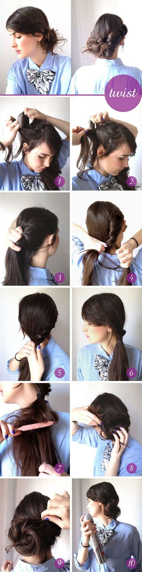 easy and quick daily hairstyles 15 quick and easy everyday hairstyle ideas