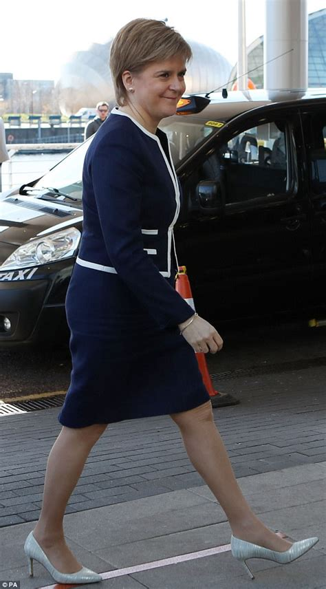The Daily Mail Uk Fashion by Theresa May S Fashion With Nicola Sturgeon
